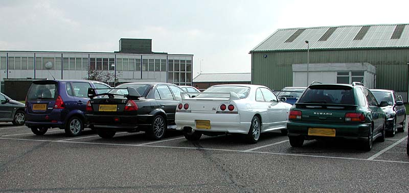 Skyline, EVO and a