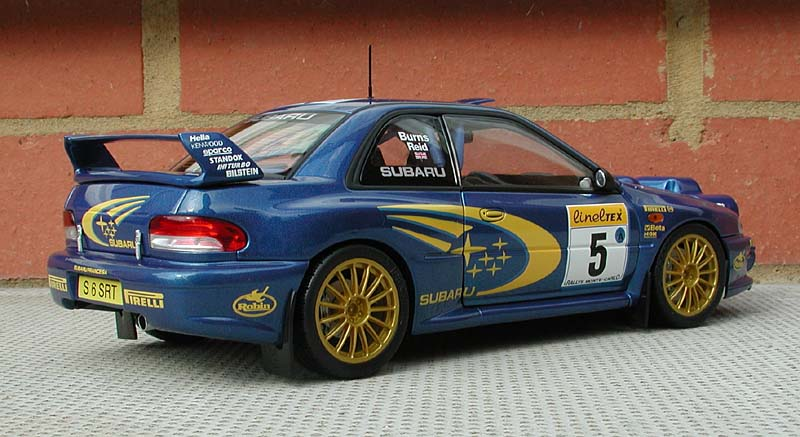 Autoart on Subaru Impreza 22b Sti